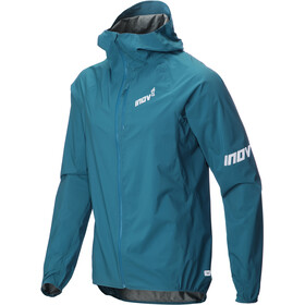 inov-8 AT/C Veste Stormshell Homme, blue green